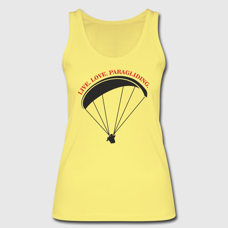live love paragliding Tops - Women's Organic Tank Top