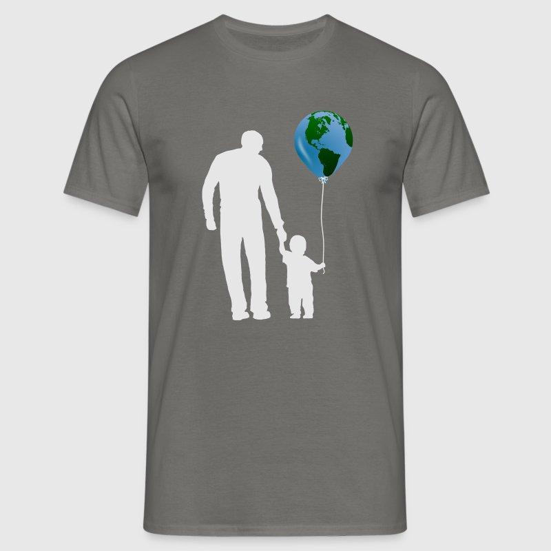 t shirt pere et fils planete gr spreadshirt