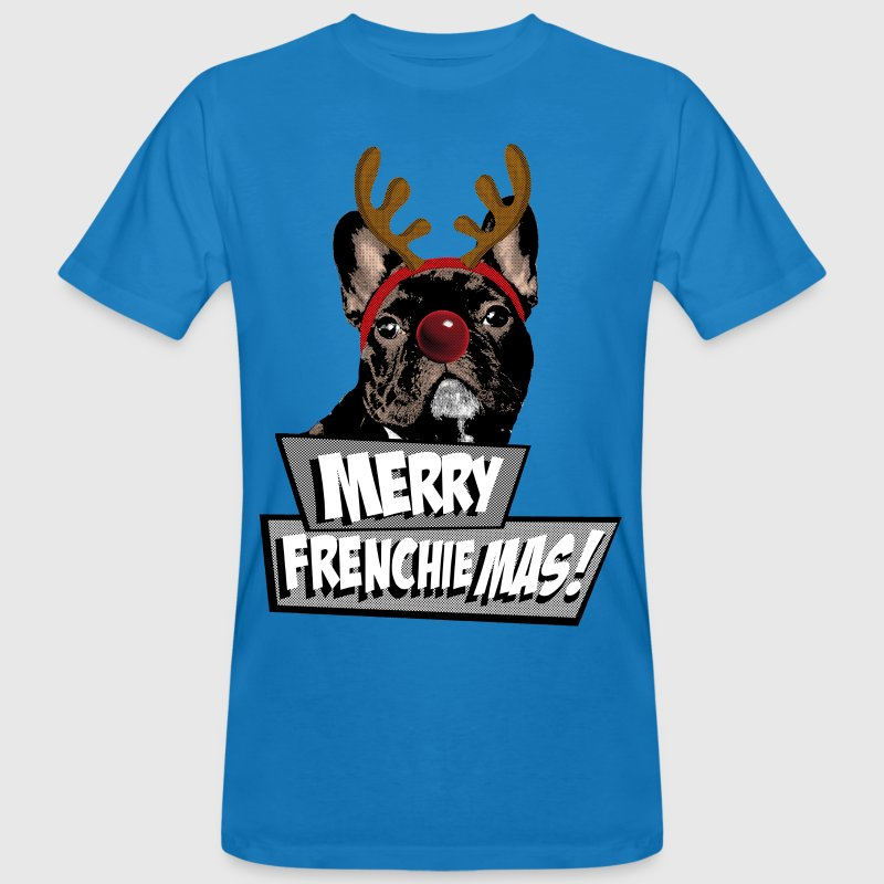 AD Merry FrenchieMas! T-Shirts - Men's Organic T-shirt