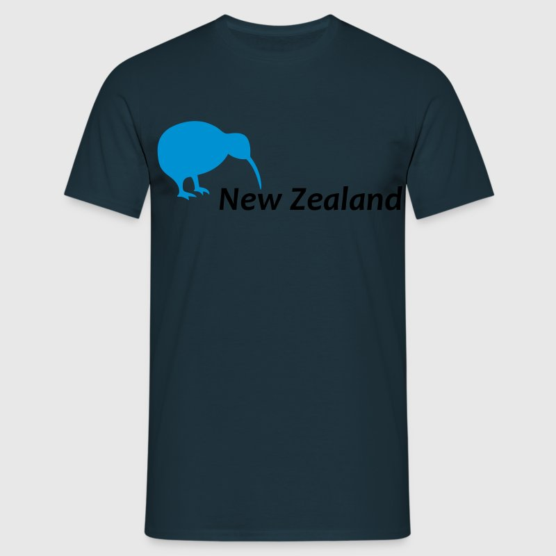 New Zealand - Kiwi Bird - Männer T-Shirt