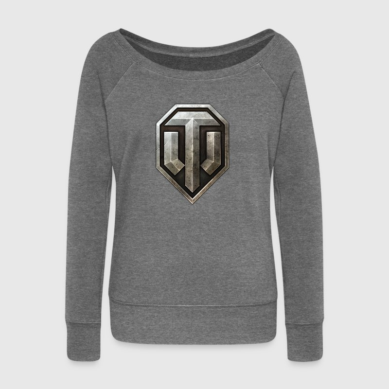 World of Tanks Logo - Women's Boat Neck Long Sleeve Top