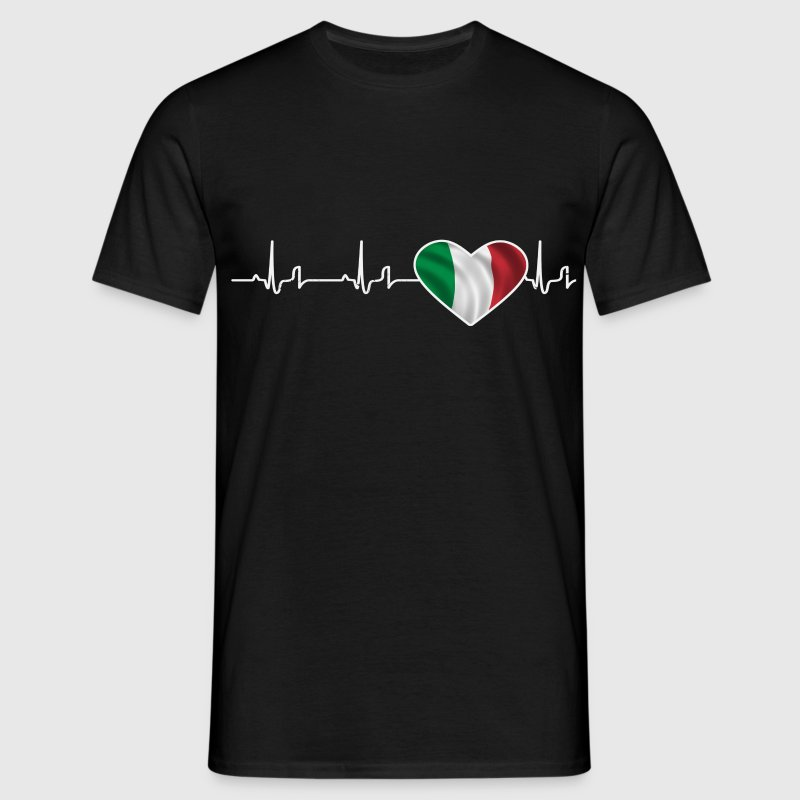 « Heartbeat » - Italie Tee shirts - T-shirt Homme