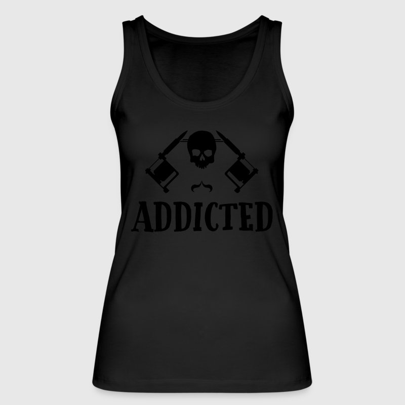 Tattoo addicted  Tops - Women's Organic Tank Top by Stanley & Stella