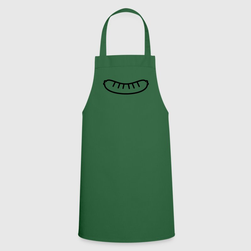 Sausage Outline  Aprons - Cooking Apron