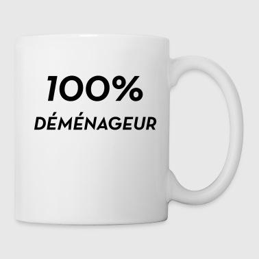 bouteilles et tasses d m nagement commander en ligne spreadshirt. Black Bedroom Furniture Sets. Home Design Ideas