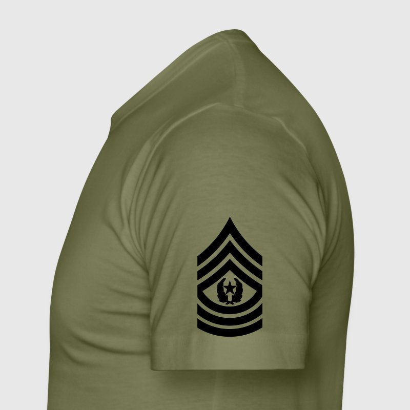 Command sergeant major csm us army mision militar t shirt for Army design shirts online