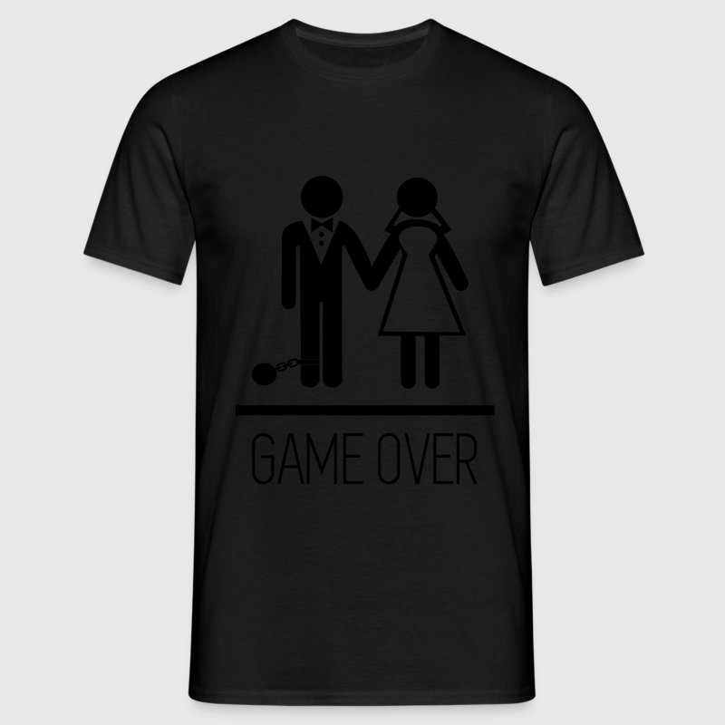 Game over stag do hen party funny t shirt spreadshirt for T shirt design game