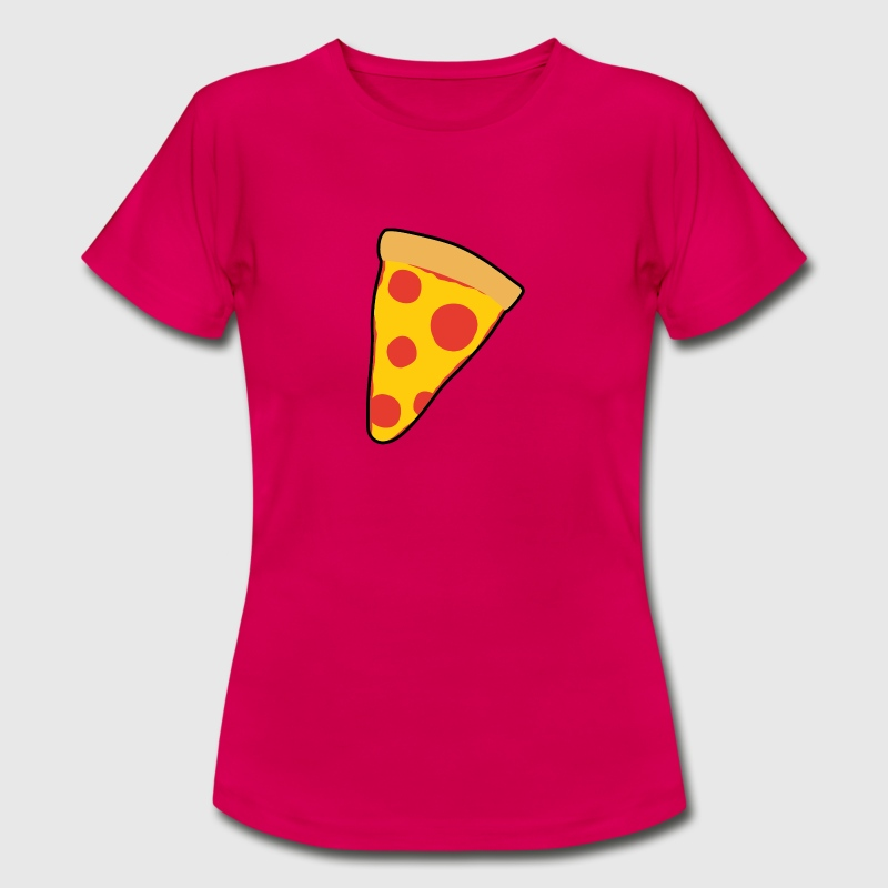 Pizza T-Shirts - Frauen T-Shirt