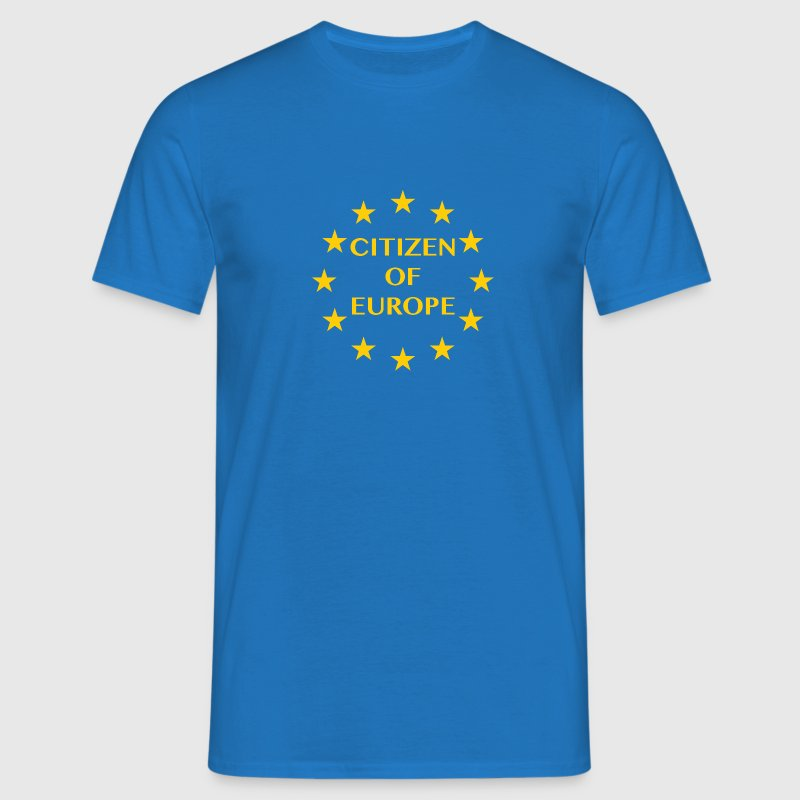 Citizen of Europe - Men's T-Shirt