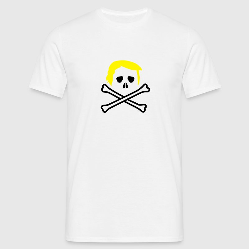 Trump Skull and Bones Vector T-Shirts - Men's T-Shirt