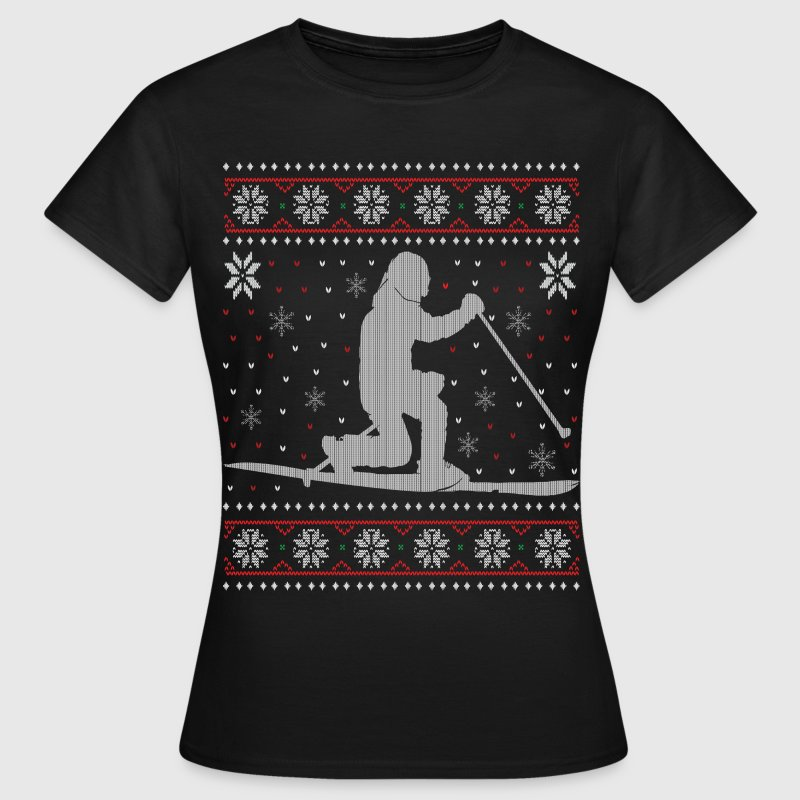 Telemark - Ugly Christmas T-Shirts - Women's T-Shirt
