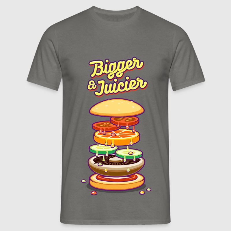Bigger & Juicier - Men's T-Shirt