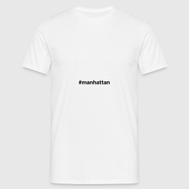MANHATTAN Caps & Hats - Men's T-Shirt