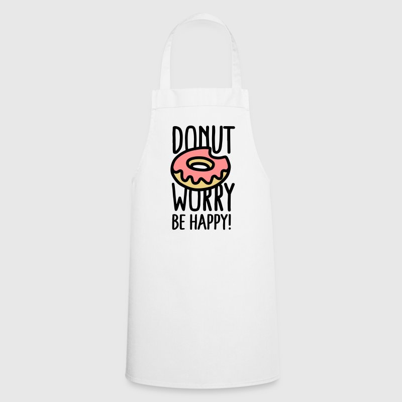 Donut worry, be happy! Kookschorten - Keukenschort