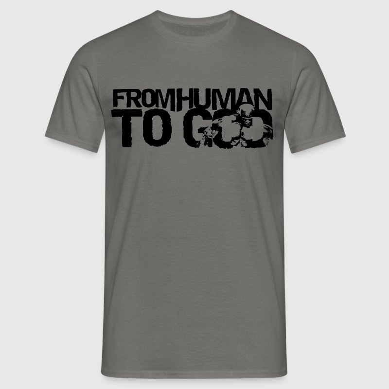From Human To God - T-shirt Homme
