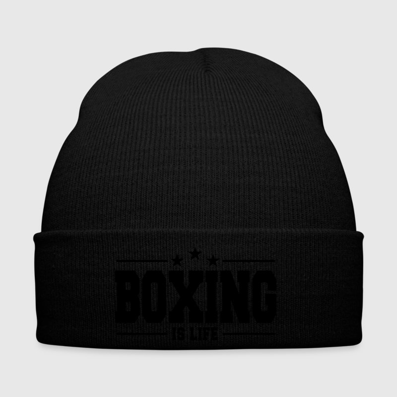 boxing is life 1 Caps & Hats - Winter Hat