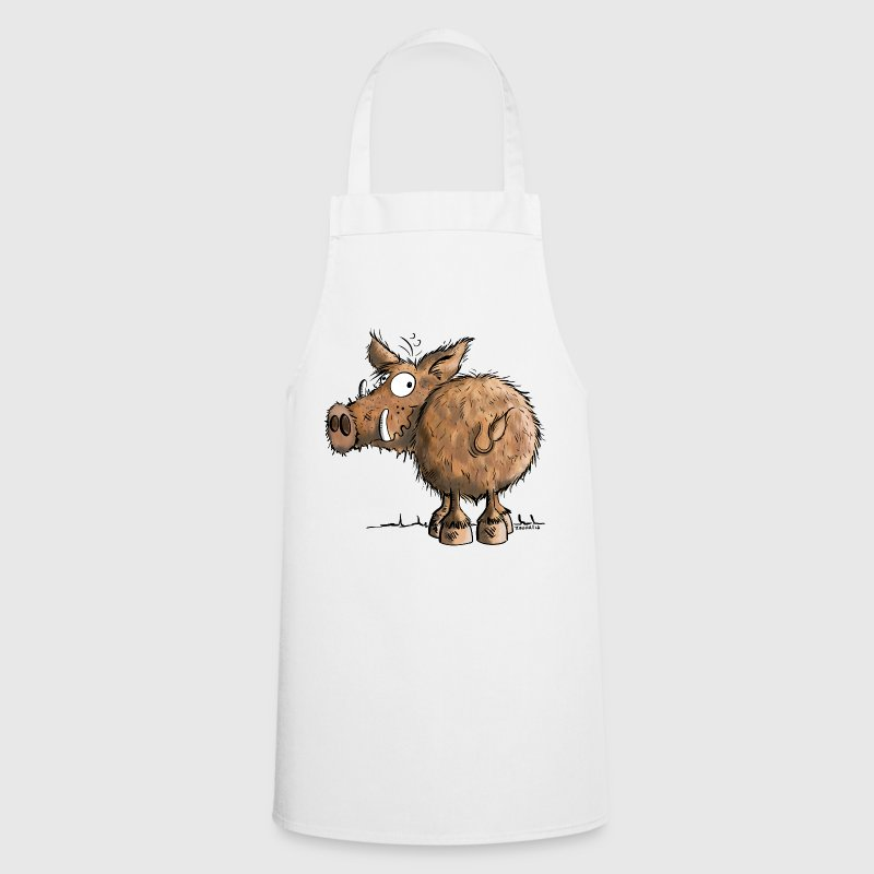 Funny Wild Boar  Aprons - Cooking Apron