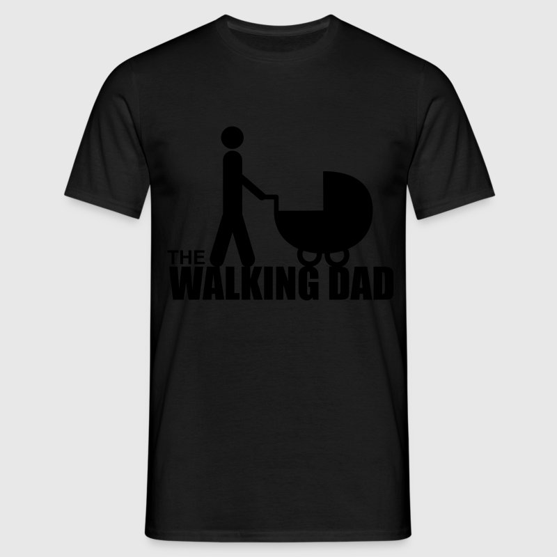 the walking dad Magliette - Maglietta da uomo