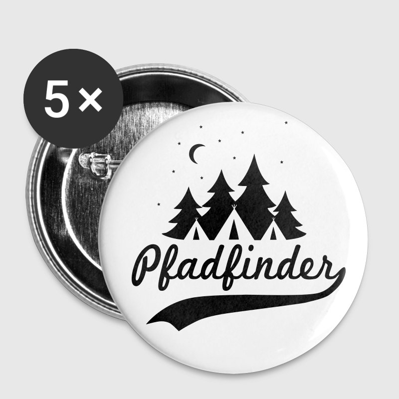 Pfadfinder T-Shirt Buttons & Anstecker - Buttons klein 25 mm