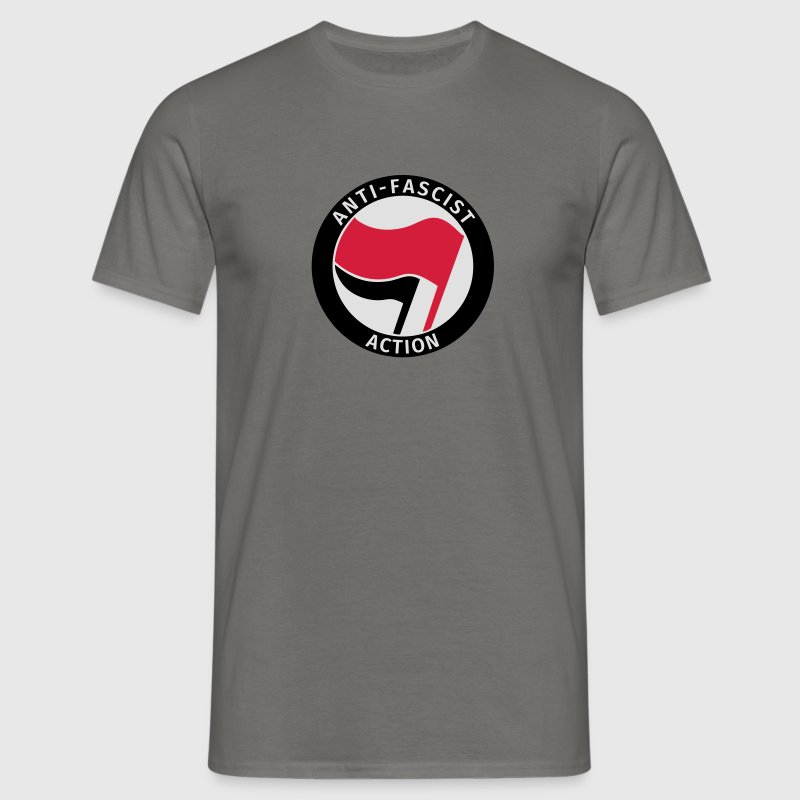 Anti-Fascist Action T-shirts - T-shirt herr