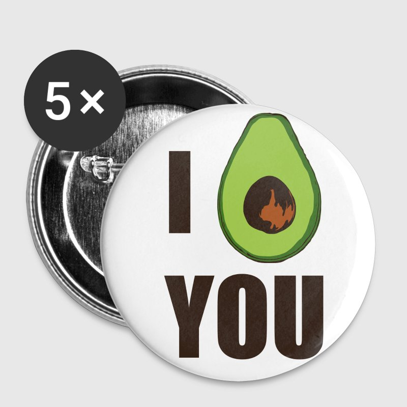I AVOCADO YOU Buttons & Anstecker - Buttons mittel 32 mm