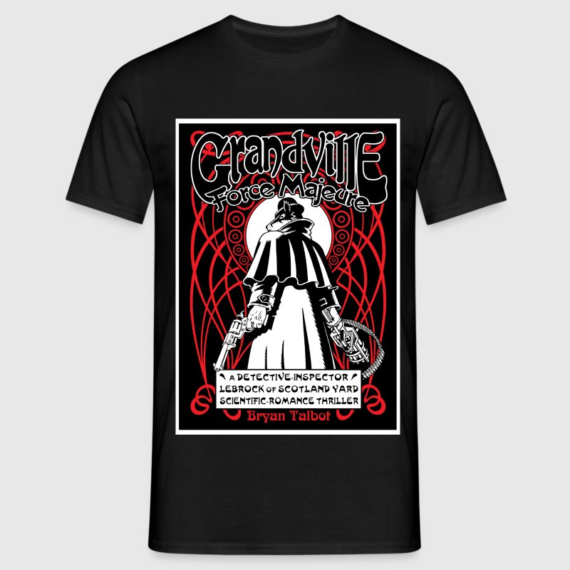Grandville: Force Majeure cover T-Shirts - Men's T-Shirt