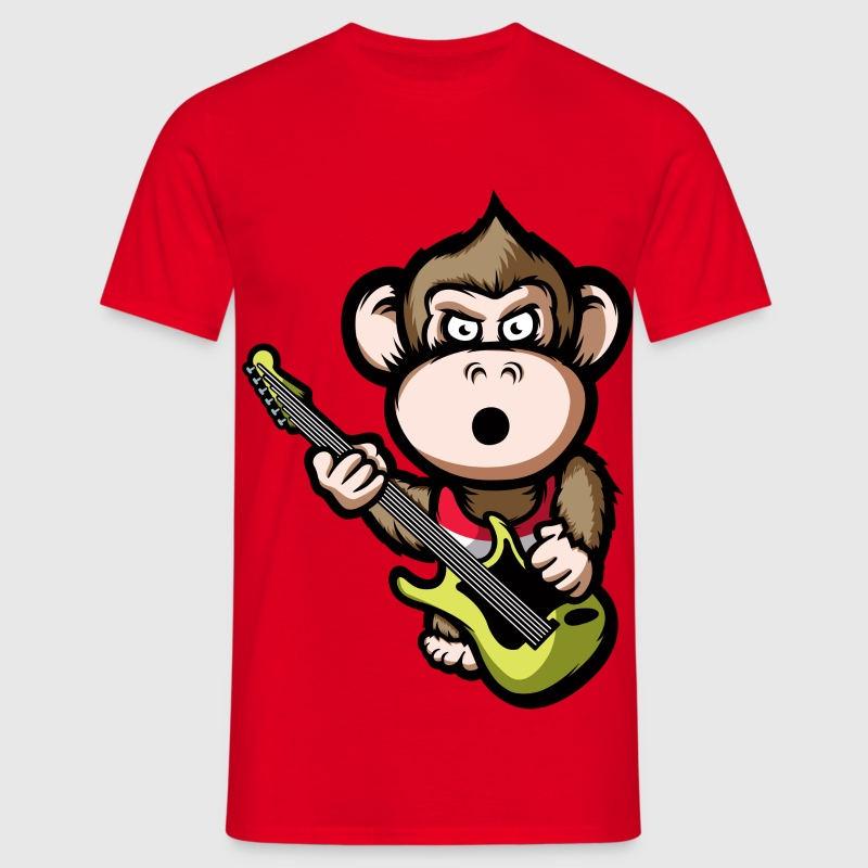 Ape Guitar T-Shirts - Men's T-Shirt