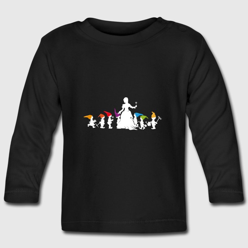 Blanche-Neige et les Sept Nains Tee shirts manches longues Bébés - T-shirt manches longues Bébé