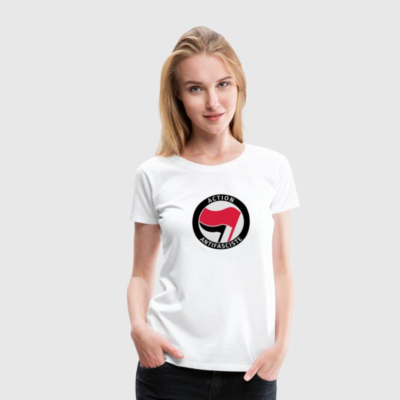 Action Antifasciste Tee shirts - T-shirt Premium Femme