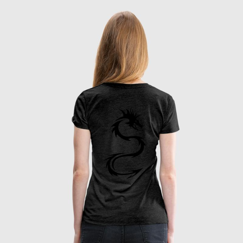 Dragon Tribal Tee shirts - T-shirt Premium Femme