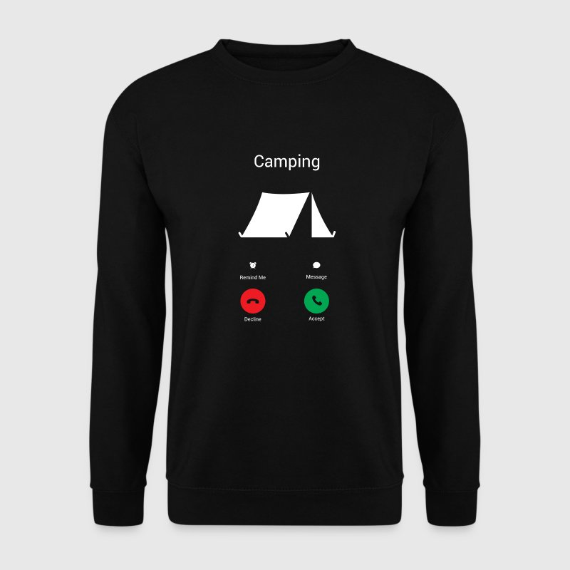 Camping Les Gets ! Sweat-shirts - Sweat-shirt Homme