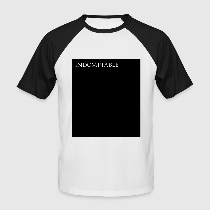 Indomptable Tee shirts - T-shirt baseball manches courtes Homme