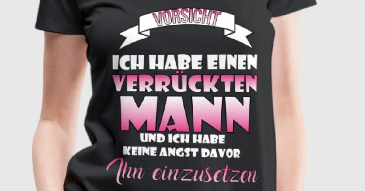 verr ckter mann ehemann geschenk weihnachten t shirt. Black Bedroom Furniture Sets. Home Design Ideas