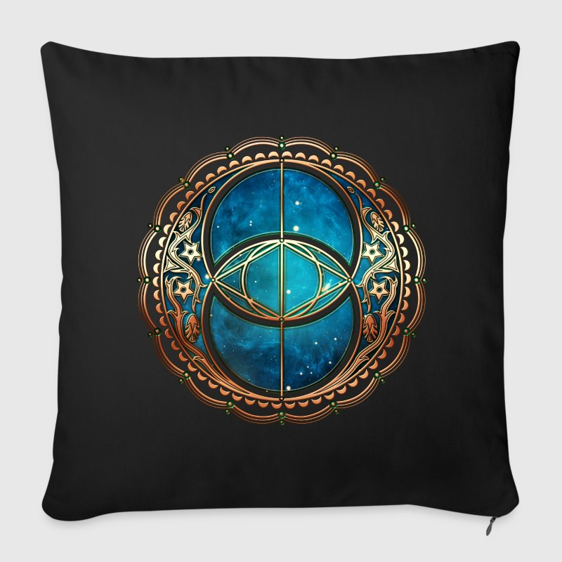 Vesica Piscis, Chalice Well, Sacred Geometry space Other - Sofa pillow cover 44 x 44 cm