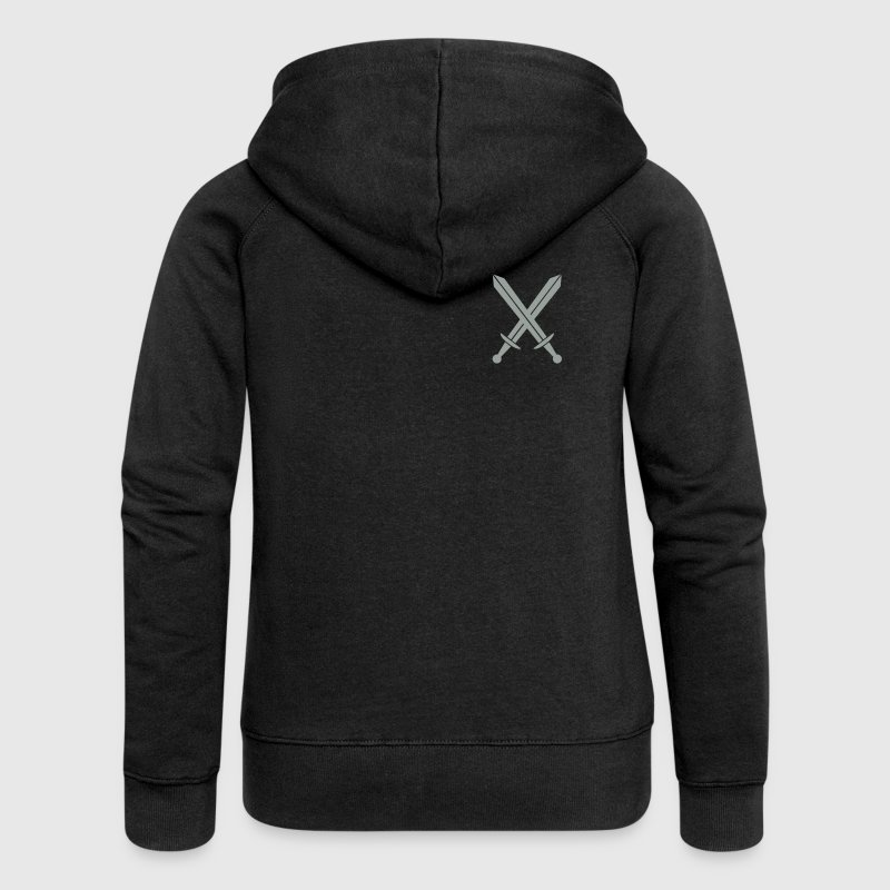 Crossed swords Hoodies & Sweatshirts - Women's Premium Hooded Jacket