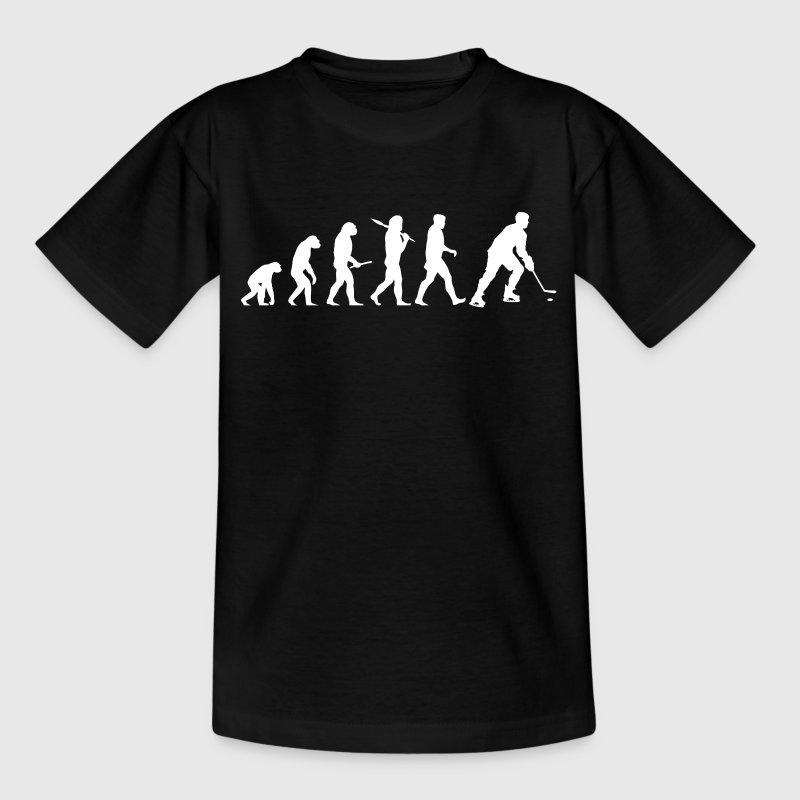Ice hockey evolution Shirts - Kids' T-Shirt