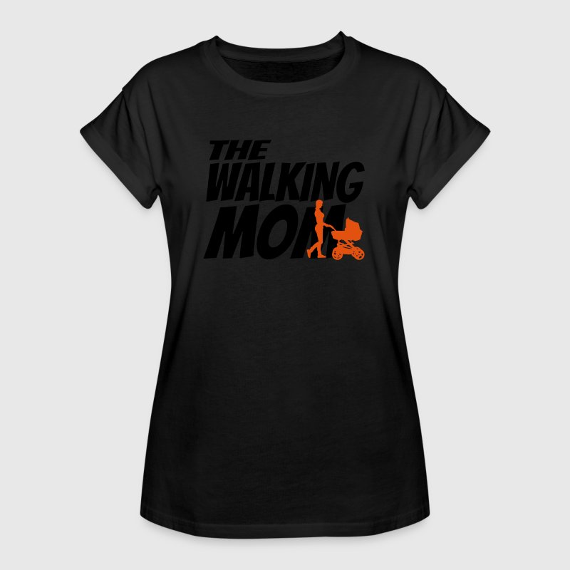 THE WALKING MOM Camisetas - Camiseta holgada de mujer