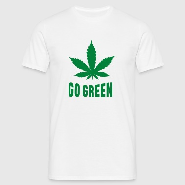 Weed Go Green Vêtements de sport - T-shirt Homme