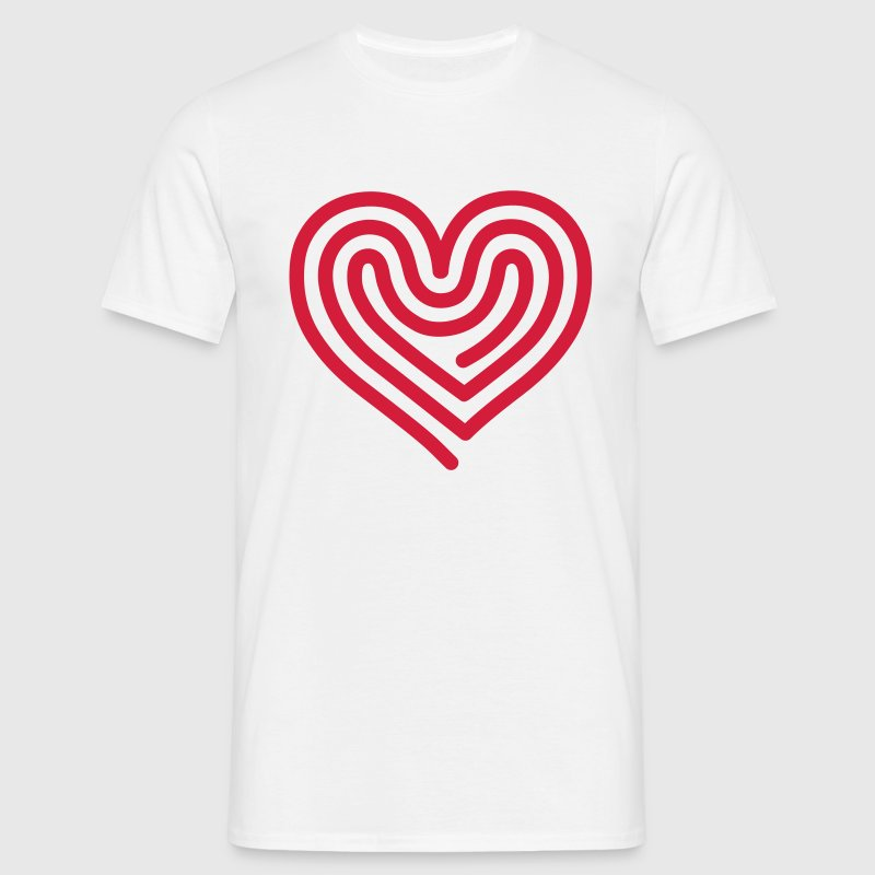 Hot Heart T-Shirts - Men's T-Shirt
