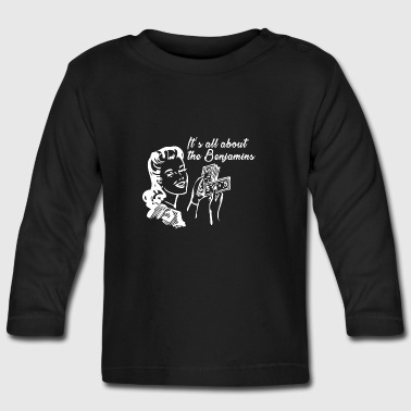 All about the Benjamins Tee shirts - T-shirt manches longues Bébé