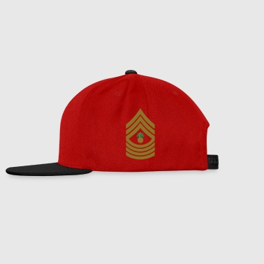 Master Gunnery Sergeant MGySgt, Mision Militar ™ Bouteilles et Tasses - Casquette snapback
