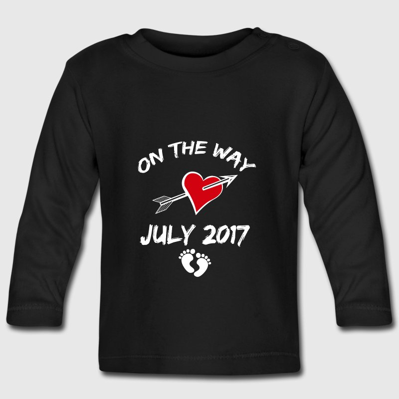 On the way (July 2017) Baby Long Sleeve Shirts - Baby Long Sleeve T-Shirt