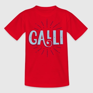 GALLI / Halli Galli Duo T-Shirts - Teenager T-Shirt