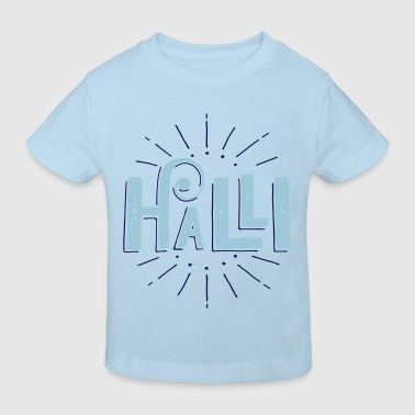 Halli / Halli Galli Duo Baby Bodys - Kinder Bio-T-Shirt