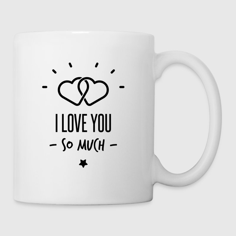 i love you so much Tassen & Zubehör - Tasse