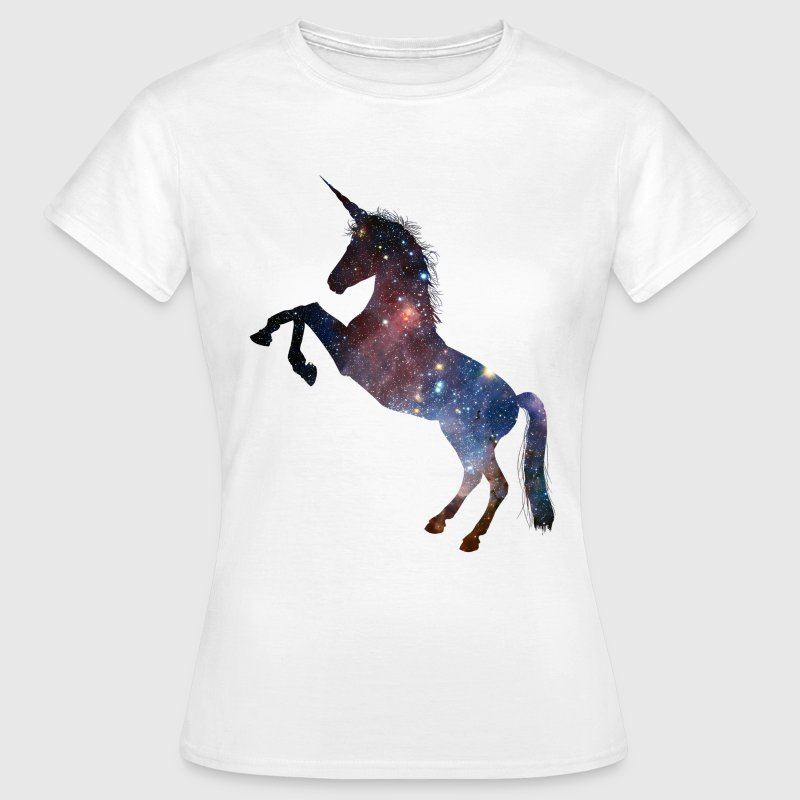 Galaxy Unicorn Space design T-Shirts - Women's T-Shirt