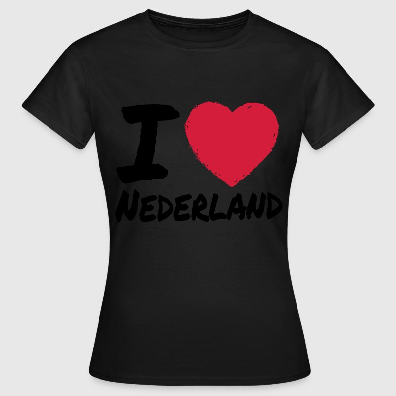 I Love Nederland T-Shirts - Frauen T-Shirt