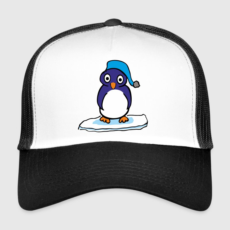 Cartoon Pinguin Caps & Mützen - Trucker Cap