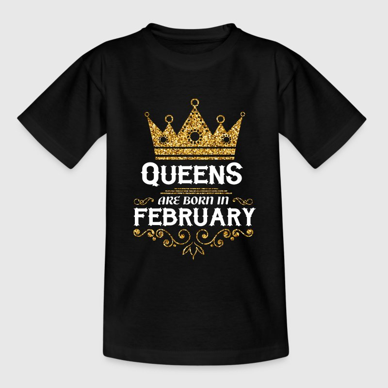 Queens are born in February Shirts - Kids' T-Shirt