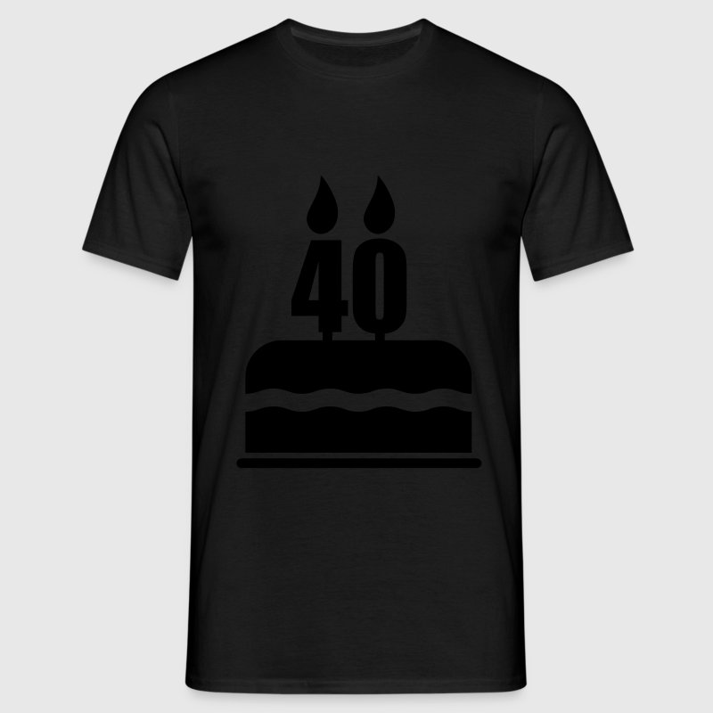 40 Yo,40, Birthday,gift, anniversary - Men's T-Shirt